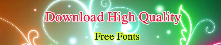 Download High Quality Free Fonts